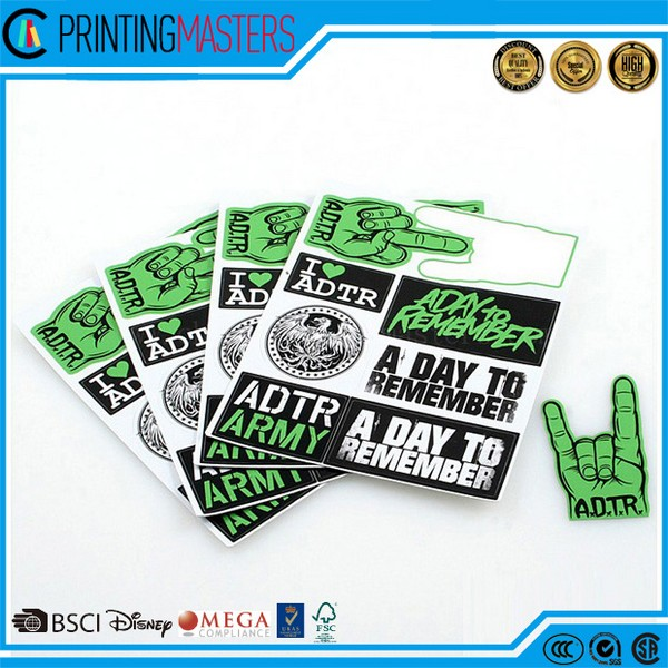 Cheap price custom high quality sticker in china