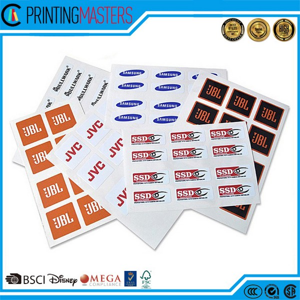 Factory Printing Professional High Quality Sticker Printing