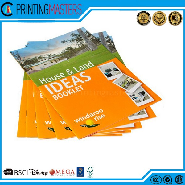 2017 Custom Brochures Printing In China