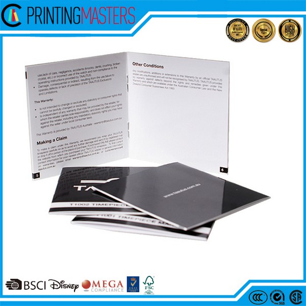 Cheap Custom Brochures Printing China