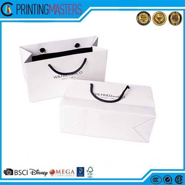 Custom Manufacturer Shopping Paper Bag
