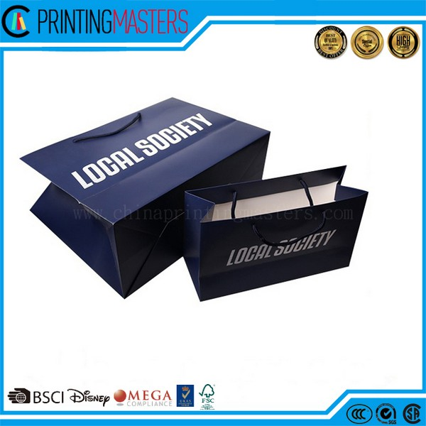 2017 Deluxe Brand Printing Paper Gift Bag