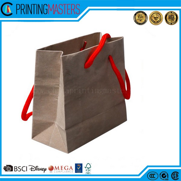 2017 Manufacturing Fashionable Shopping Paper Bag