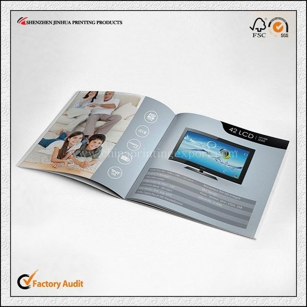 Full Color Printing Best Price Innovative Video Leaflet