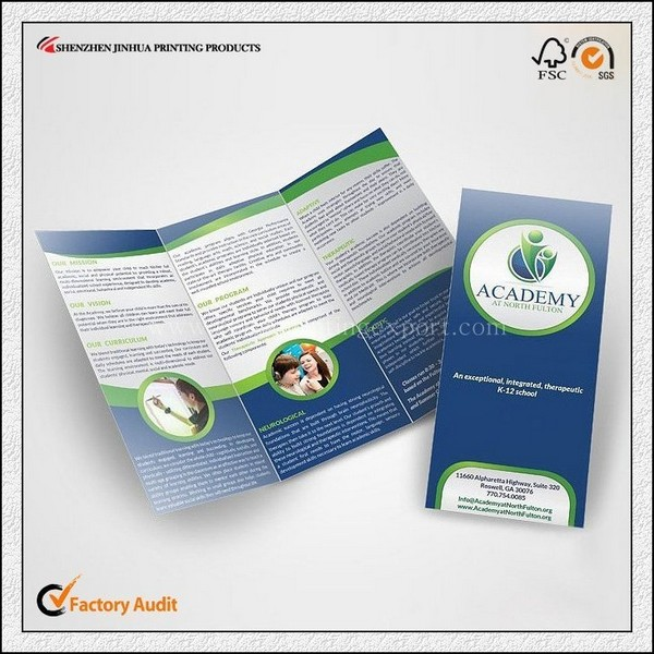 New Products Promotion Advertisement Brochure Advertising Leaflet