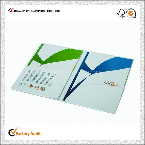 Cheap Printing Perfect Binding Pamphlet High Quality