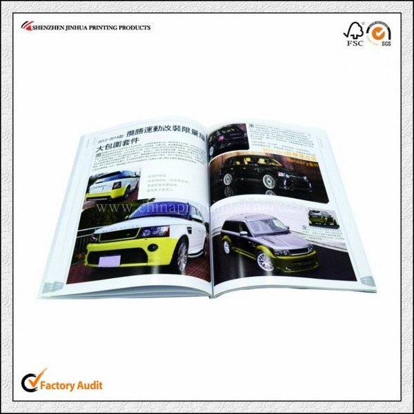 Factory Printing High Quality Recycled Paper Pamphlet