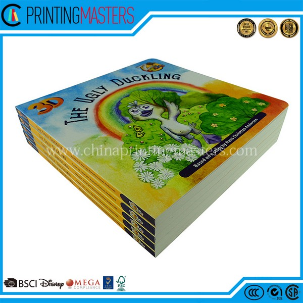 High Quality Children Board Book Printing In China