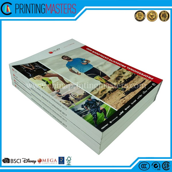 Custom Design Soft Cover Catalogue Printing China