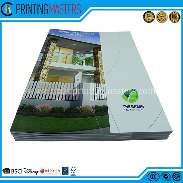 High Quality Soft Cover Catalogue Printing 2018