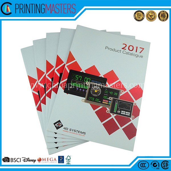 Perfect Customized Offset Printing Catalogue Design