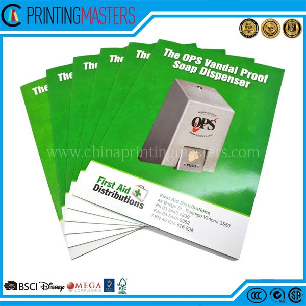 Full Color Offset Printed Catalog Printing China