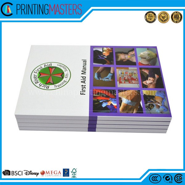 High Quality Full Color Recycled Paper Magazine Printing