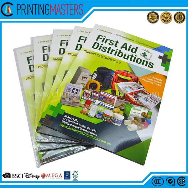 high quality offset print full color book printing - Color Book Printing