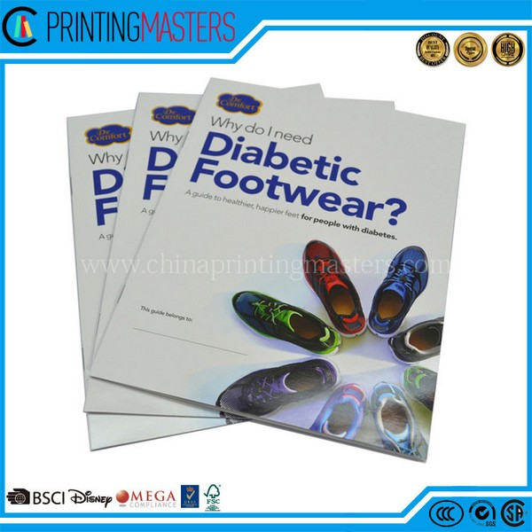 High Quality Full Color Magazine Printing China
