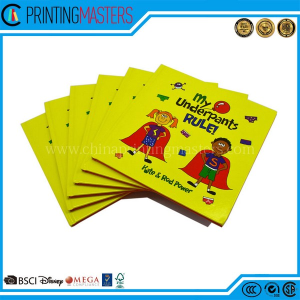 Beautiful Color Bill Hardcover Books Printing Factory