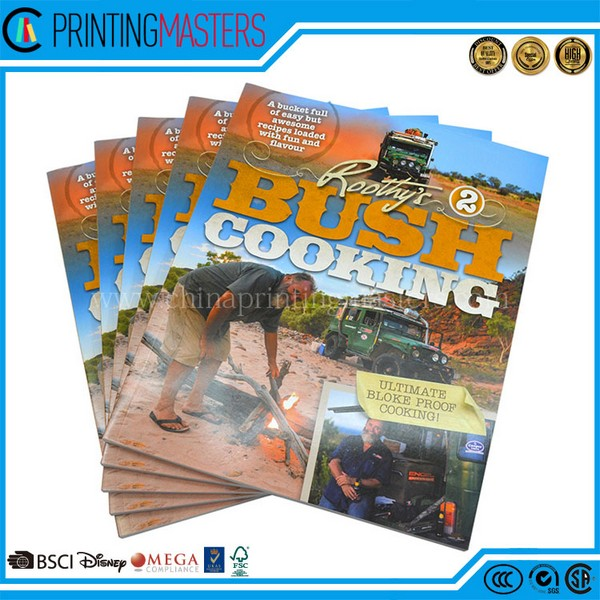 Professional China Printing Company Print Full Color Cookbook
