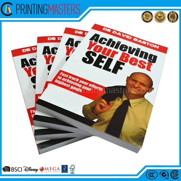 High Quality Offset Print Black And White Book Printing