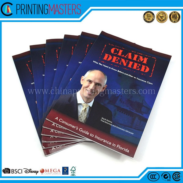 High Quality Perfect Binding With Sewn Offset Printing Book