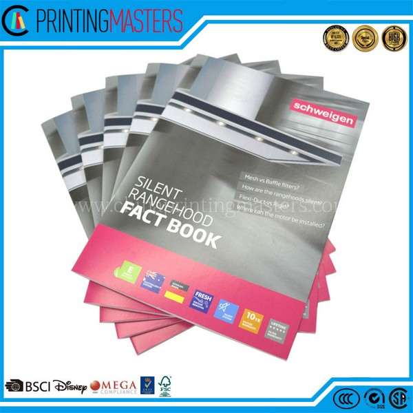 Cheap Price Saddle Stitch Full Color Catalogue Printing