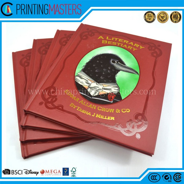 High Quality Custom Coloring Book Printing/Hardcover Book Printing