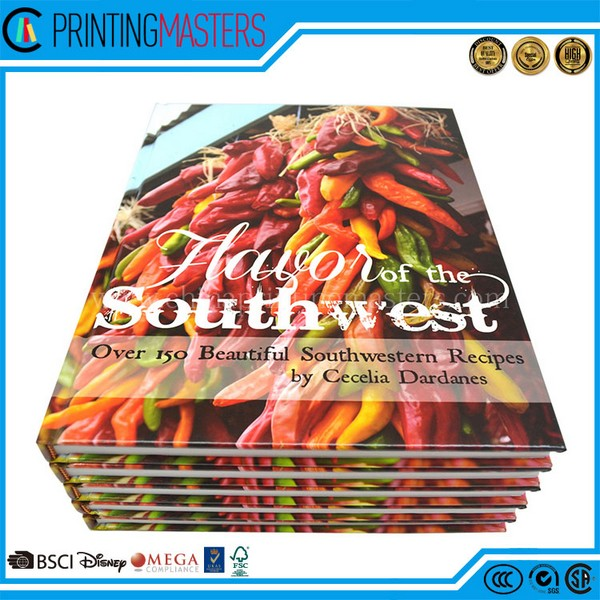 Best Quality Hardcover Cookbook Printing With Low Cost