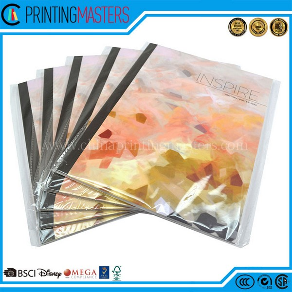 Customized Full Color Book Printing With Plastic Bag