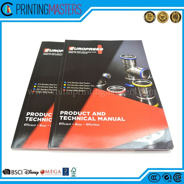 Cheap Price Free Sample Perfect Binding Catalog Printing China