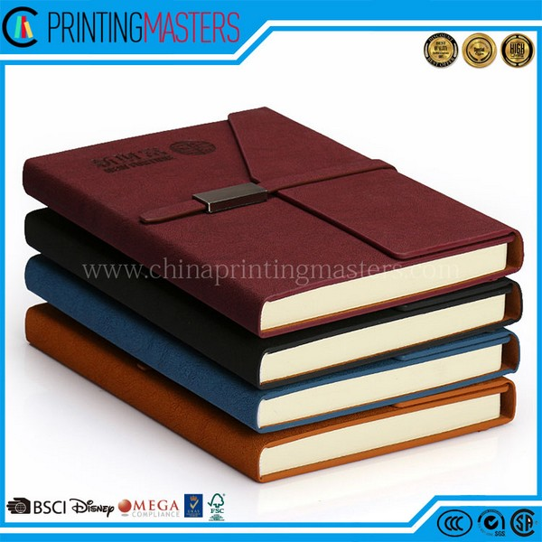 China Printing High Quality Leather Notebook