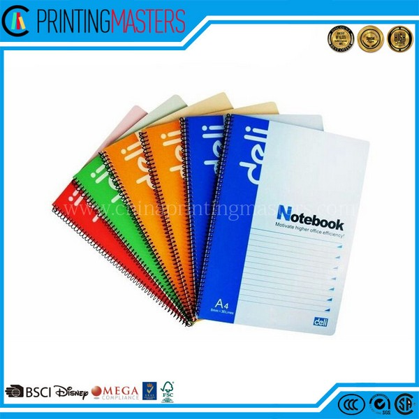 High Quality Professional Spiral Softcover Notebook Printing