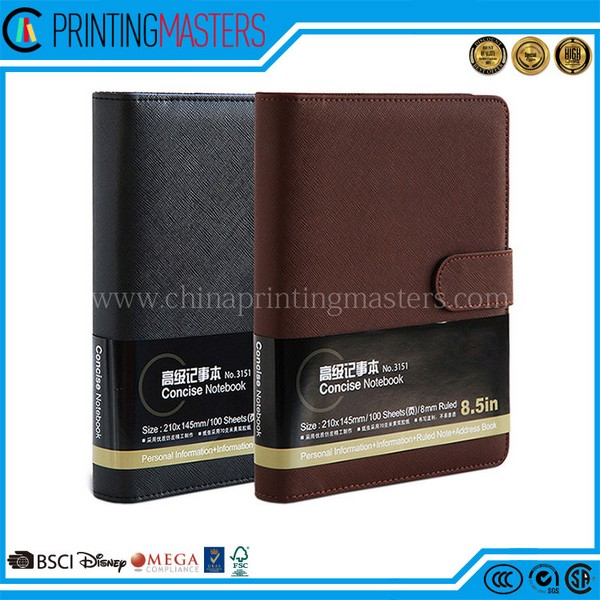 Cheap Factory Price Leather Note Books Printing