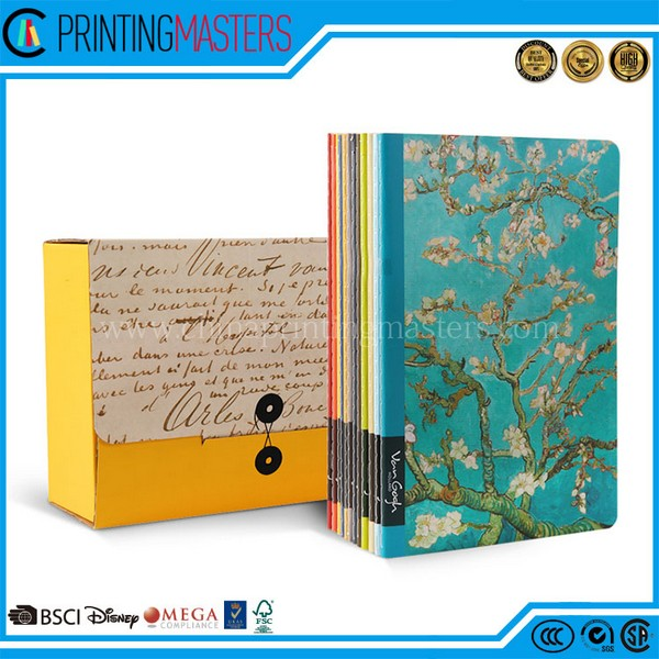 China Printing Factory Personalized Hardcover Notebook Printing