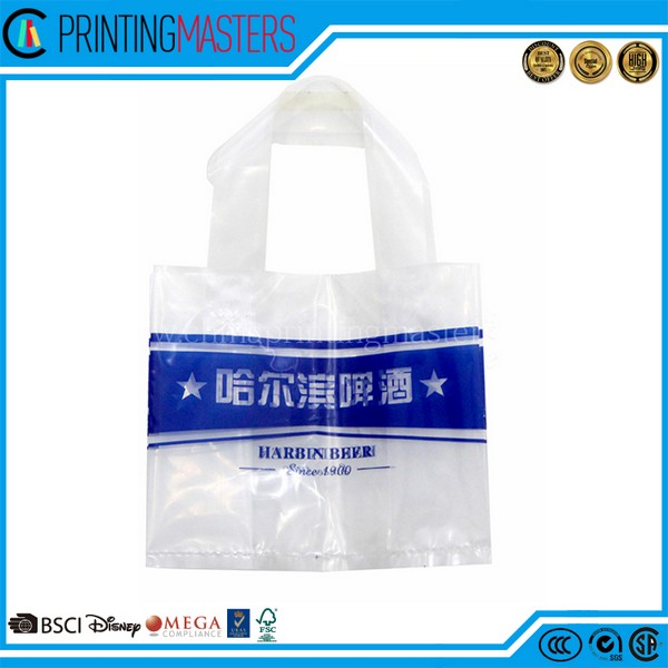 High Quality Custom Printed Heavy Plastic Bag