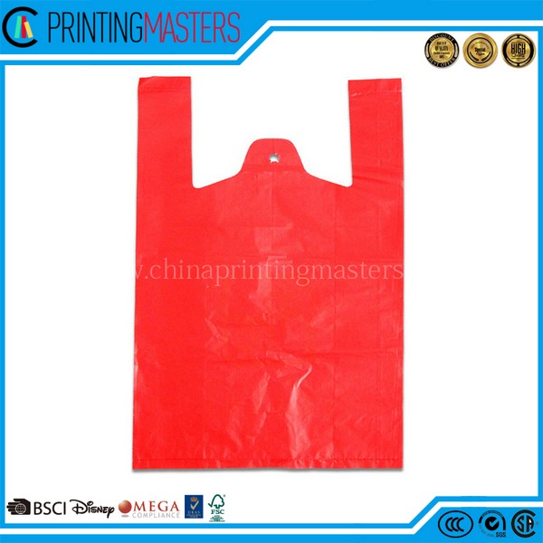 Custom Completely New Materials T Shirt Plastic Bag