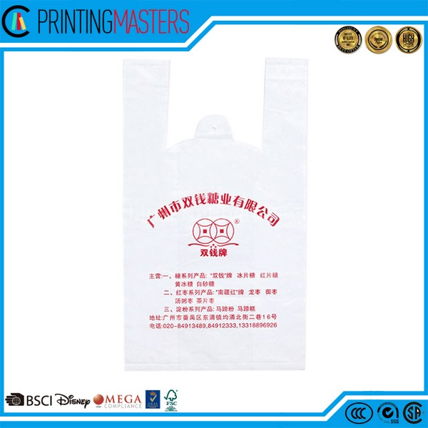 Hdpe Promotion White Vegetable Grow Bags Printing