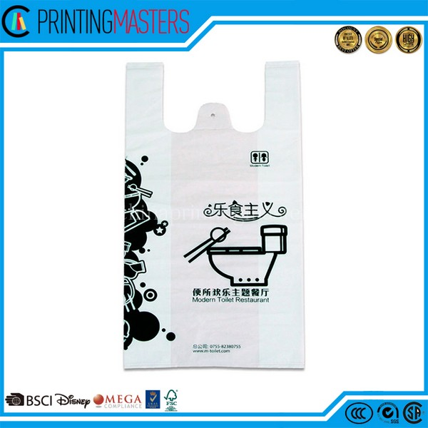 Hot Sale Custom Printed Eco Friendly Plastic Bag