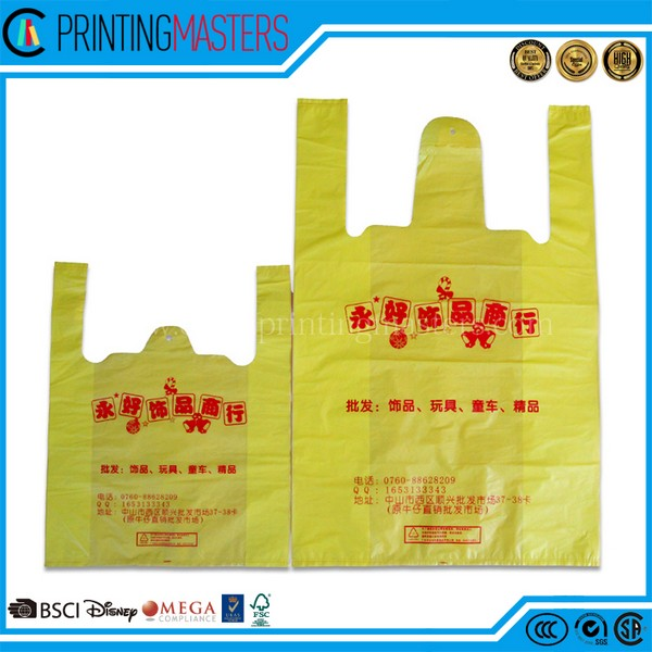 Ingenious Product Plastic Biodegradable T shirt Bag