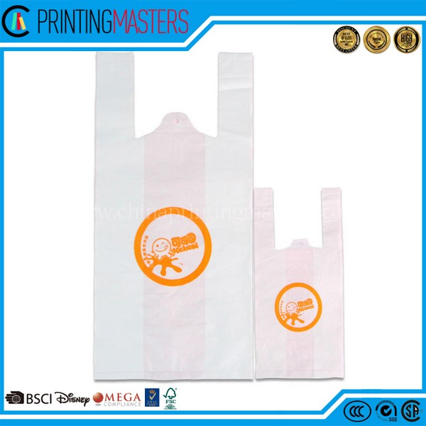 Life Convenience Hdpe Plastic Vest Handle Carrier