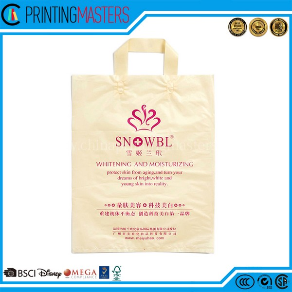 Simple Design Recycling Yellow Cloth Grocery Bags