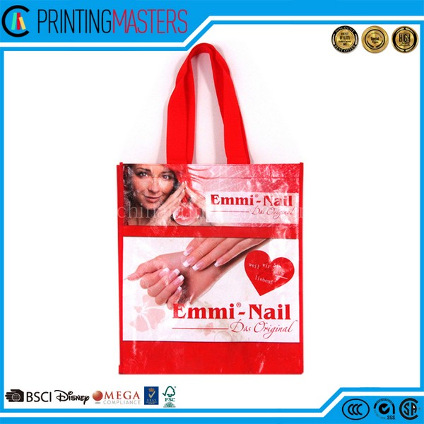 China Factory Custom Tote Shopping Non Woven Bag