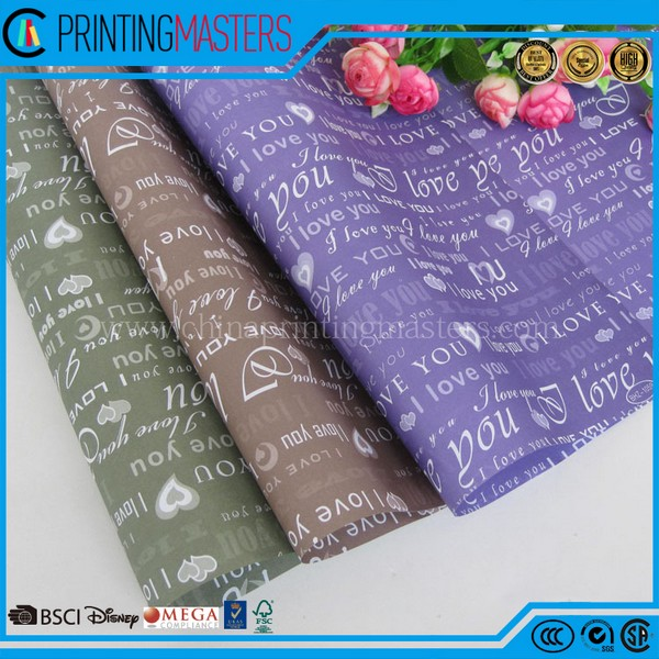 Tissue Paper Custom Logo Printed Wrapping Paper