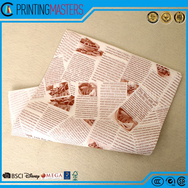 Direct Factory Price Food Wrapping Paper,Food Packaging Paper