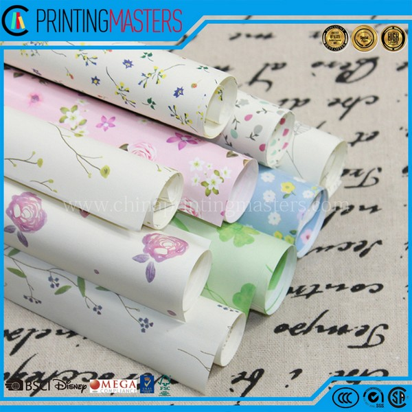 High Quality Colorful Wrapping Printed Tissue Paper
