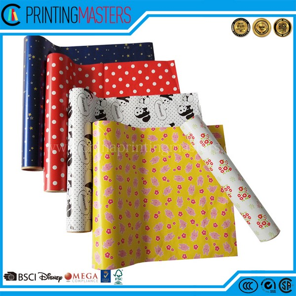 Cheap Own Logo Printing Tissue Paper & Wrapping Paper