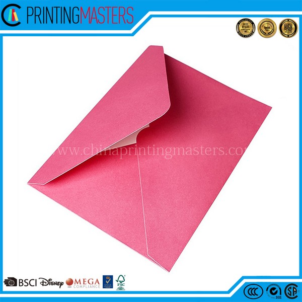 C4 Beautiful Paper Mini Security Custom Envelope Printing