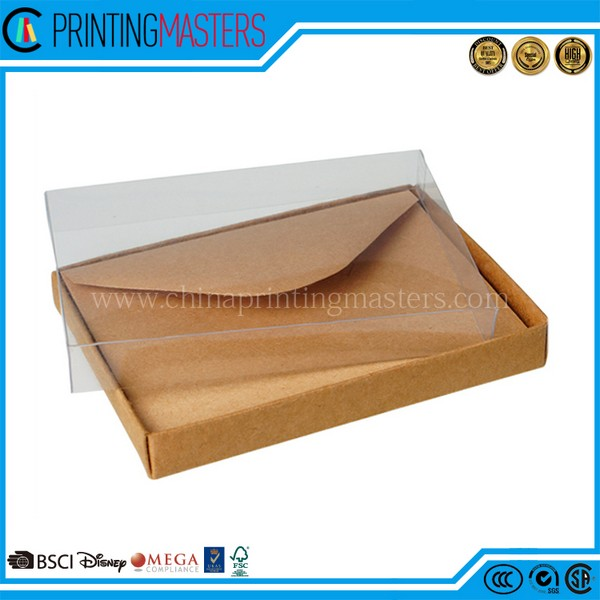New Product Custom Brown Kraft Envelope Printing In China
