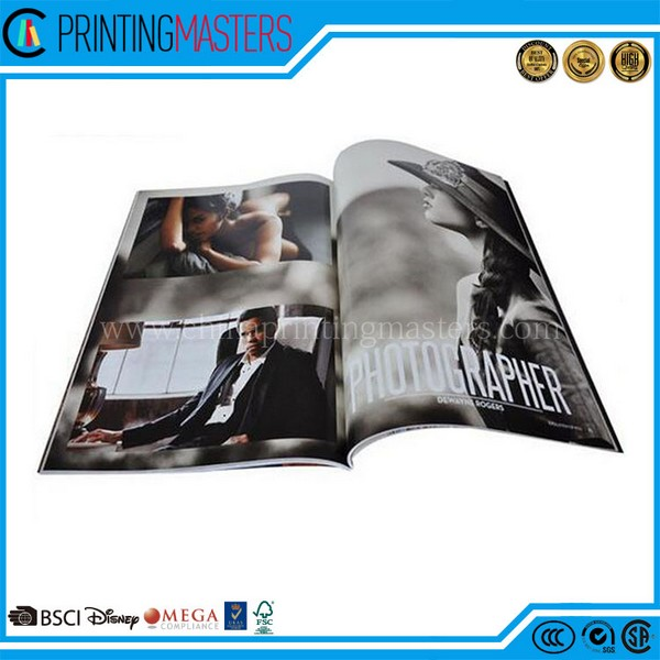 Full Color Printed Custom Cheap Offset Printing Magazine