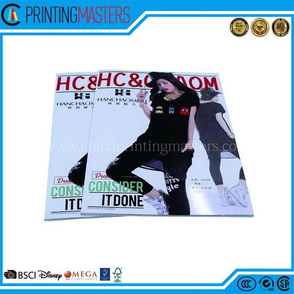 China Factory Direct Printed Custom Cheap Magazine Printing