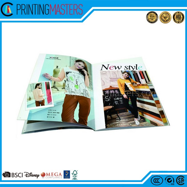 A4 Size Colorful Custom Magazine Printing In China