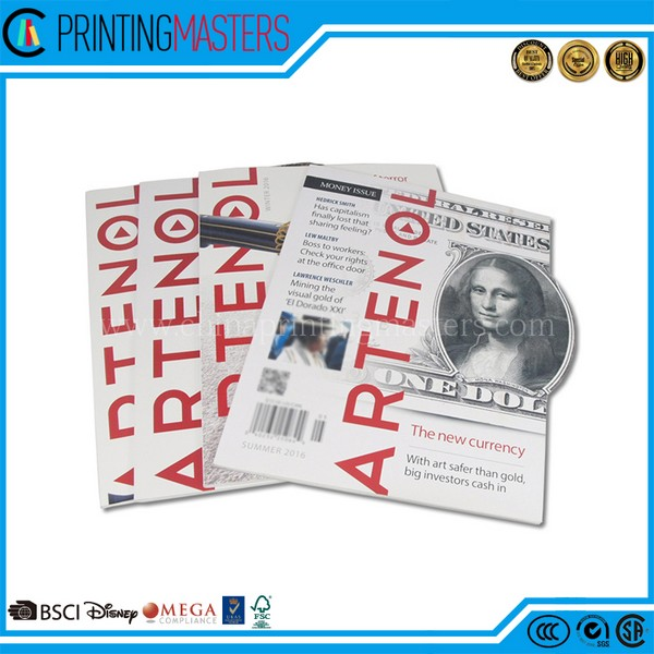 Cheap Price Offset Printed Fashion Magazine Printing China